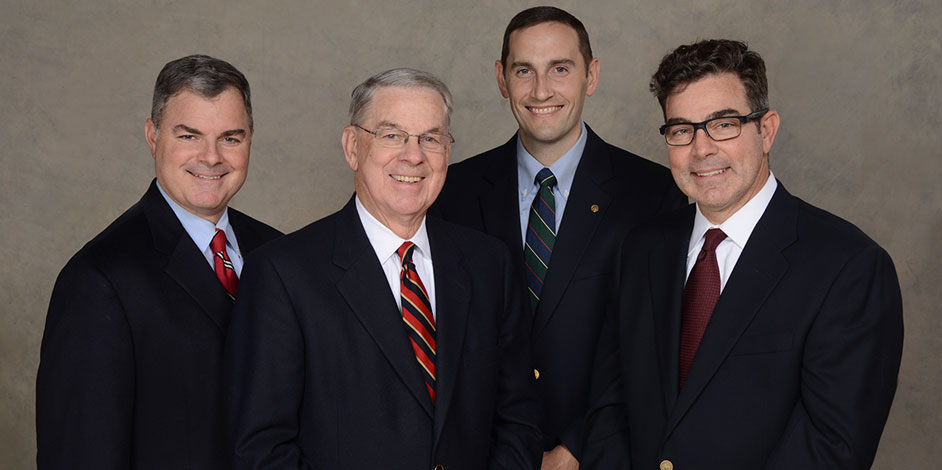 Photo of Dr. Paul, Dr. Tim, Dr. Casey, and Dr. Kipp
