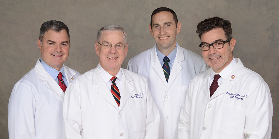Photo of Dr. Paul, Dr. Tim, Dr. Casey, Dr. Kipp.